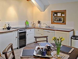self catering kitchen and dining areas